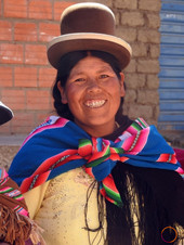 another bolivian woman