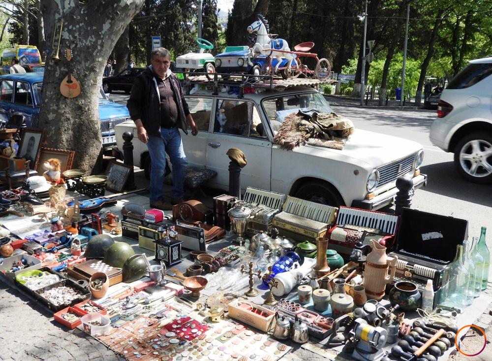 Tbilisi - flea market