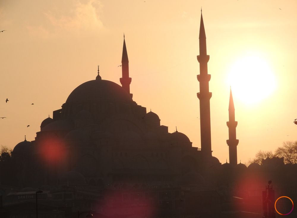 Istanbul_by sunset
