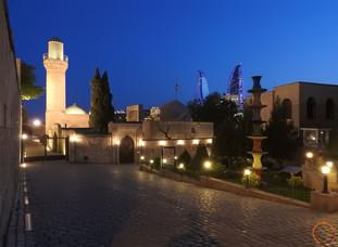 Baku - night view