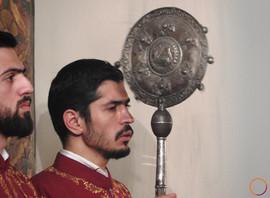 Echmiadzin - armenian church traditions.