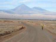 atacama desert - biking