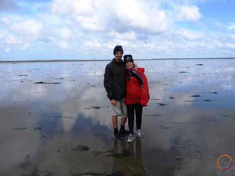 wadden sea - the two of us