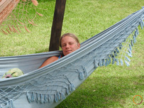 anna relaxing