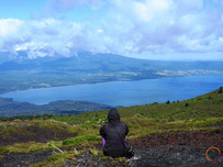 view from the osorno