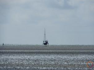 wadden sea - ship