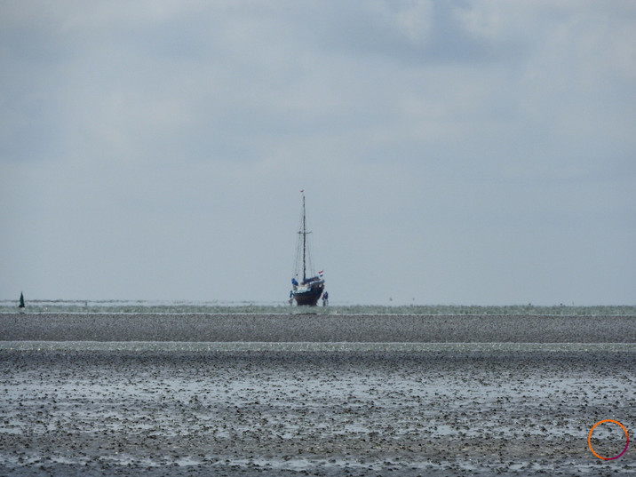 wadden sea - ship