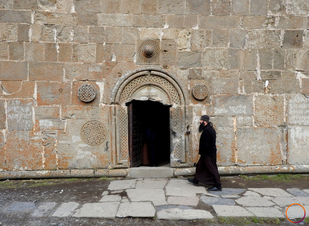 Kazbegi - priest
