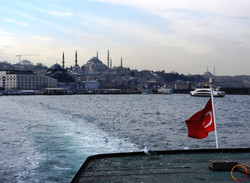 Istanbul_from the sea