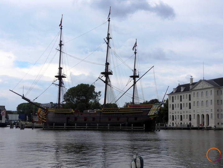 amsterdam galleon
