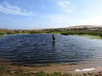lake in the desert