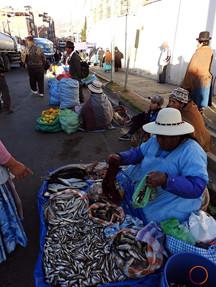 la paz - street market