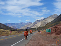 crossing the andes with trucks