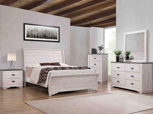 Caralee White Bedroom Suite