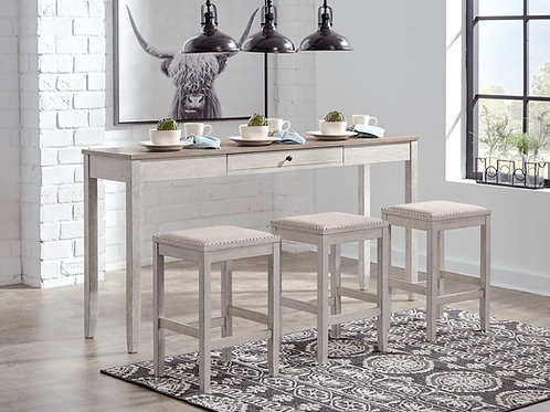 Ashley Counter Table & Stools