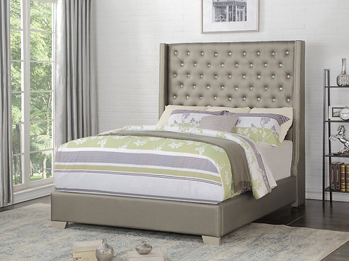HH400 Diamond Tufted Bed