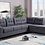 Thumbnail: James Reversible Sectional