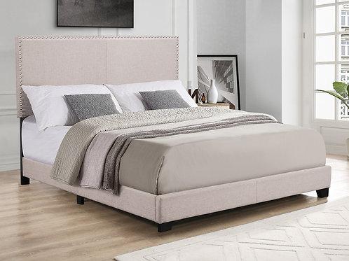 Sandburg Velvet Bed