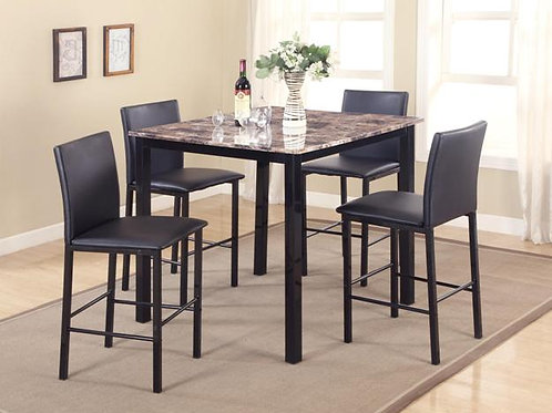 Aiden 5-PC Counter Height Dining Set