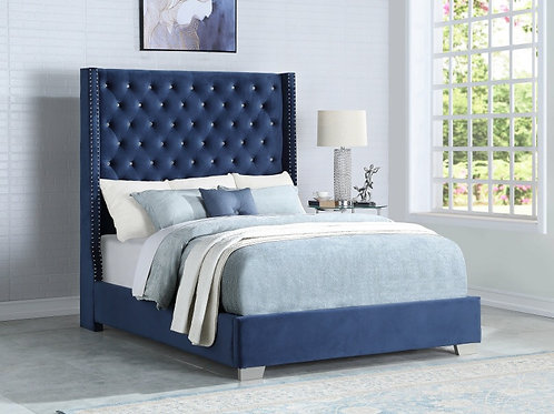 Lydia 6FT Diamond Tufted Bed
