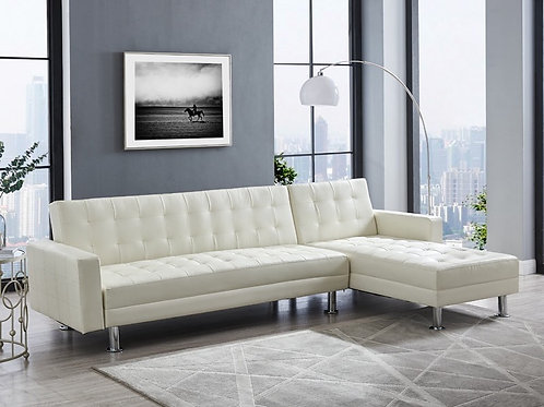 Bobby White 2-PC Sectional Sofa Chaise