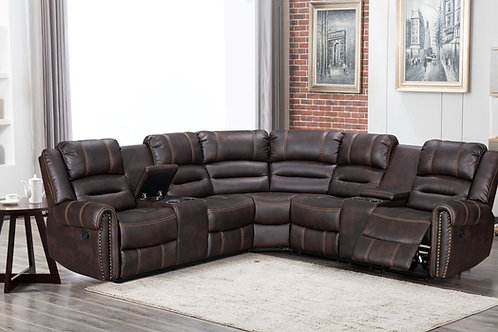Kennedy Sectional Reclining Set