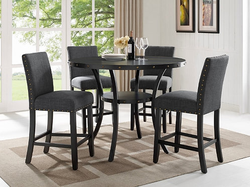 Wallace 5-PC Chair & Pub Table Set