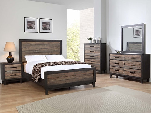 Tacoma Two Tone Bedroom Suite