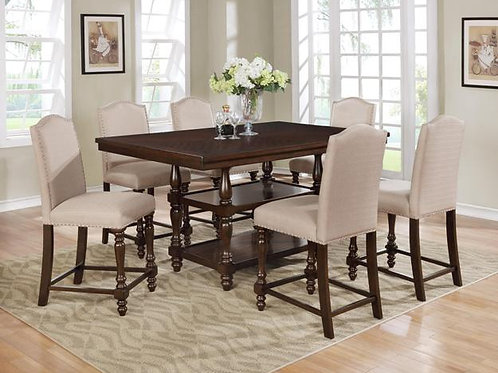 Langley 7-PC  Counter Height Table Set