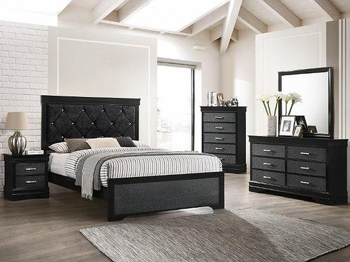Amalia Black Bedroom Suite