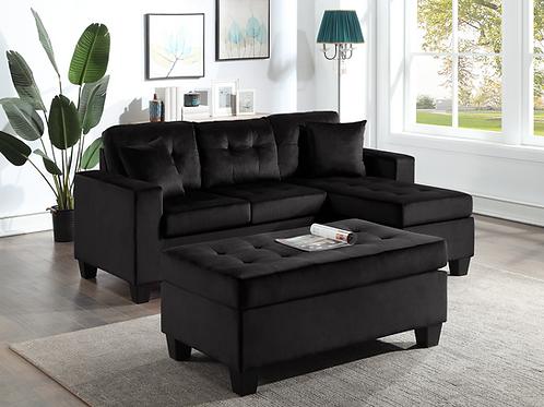 Naomi Sectional Sofa w/ Ottoman