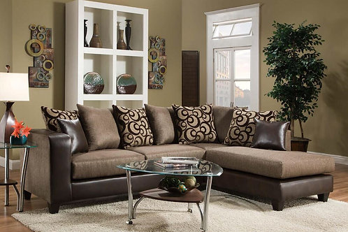 Louis Brown Sectional