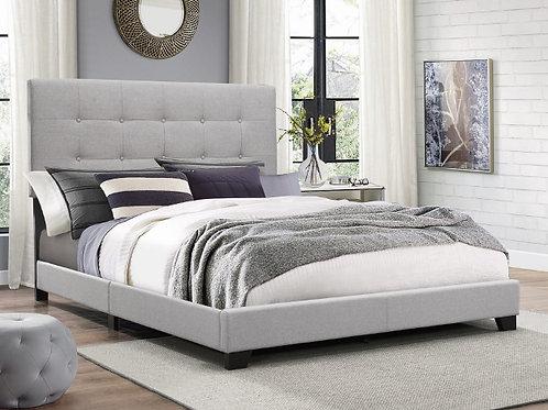 Florence Grey Platform Bed