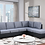 Thumbnail: Wow Reversible Chaise Sectional