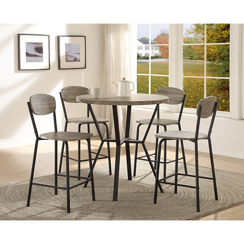 Blake 5 Piece Counter Height Dining Table Set