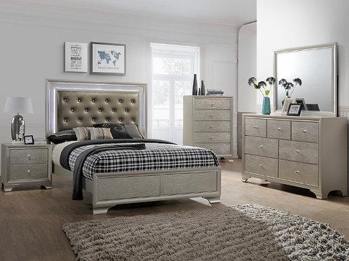 Lyssa LED Bedroom Suite