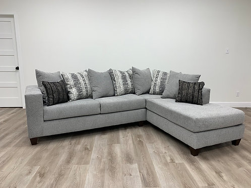 Moderno Grey Sectional