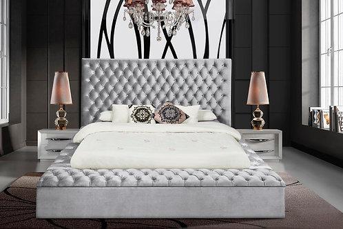 Paris Upholstered Platform Bed