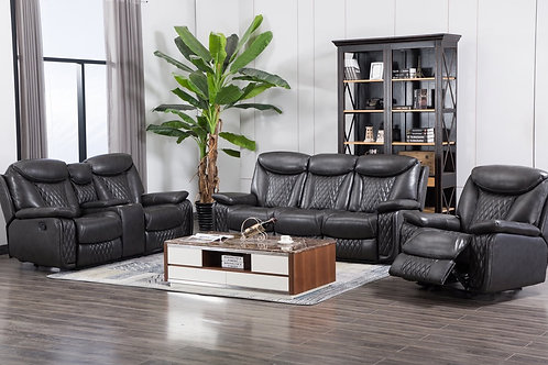Chanel Leather Gel 3-PC Reclining Set