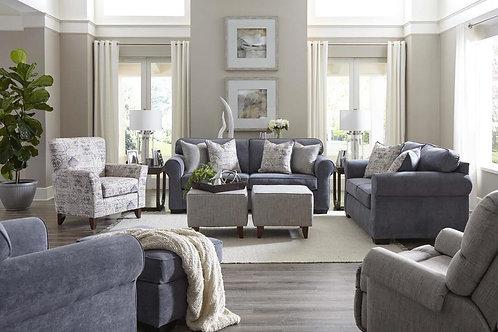 Washington Slate blue Sofa and Loveseat