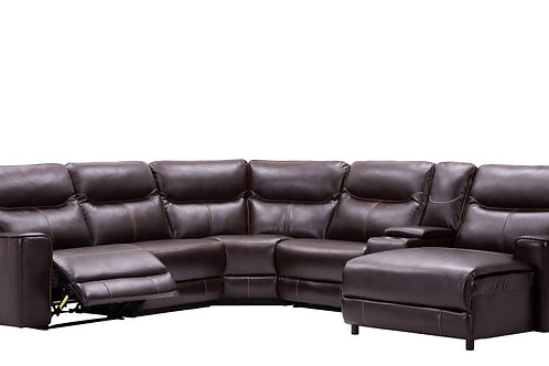 MARBELLA OVERSIZED SECTIONAL RECLINER