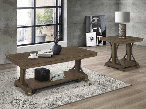 Quincy 3-Pc Coffee Table Set