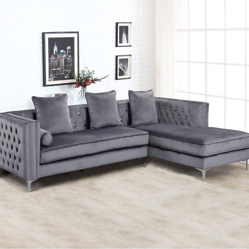 Sparkle Grey Sectional