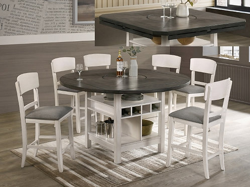Conner Counter Height Table Chair Set with Bench