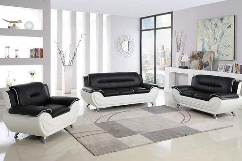 Sebastian 3-PC Sofa and Loveseat