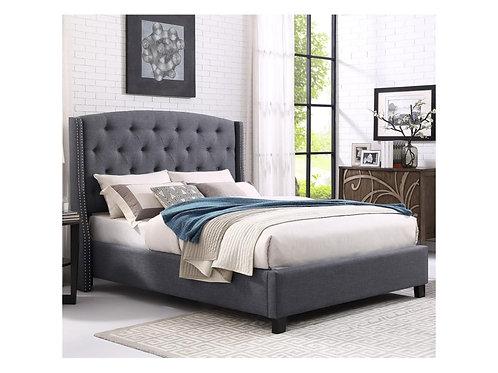 Eva Grey Bed