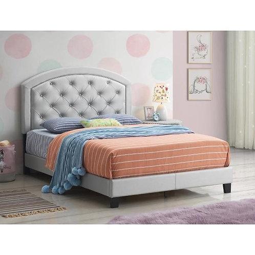 GabyAdjustable HB Height Platform Bed
