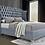 Thumbnail: Luxor Velvet Tufted Platform Bed
