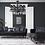 Thumbnail: Lisbet Black Velvet Sofa & Loveseat
