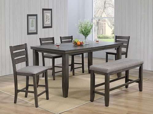 Bardstown Rectangular Counter Height Table Set